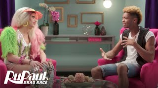 RuPaul's Drag Race (Season 8 Ep. 7 Recap) | The Pit Stop with Kingsley & Laganja Estranja | Logo