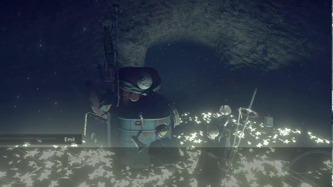 Nier Automata Lunar Tear Emil S Memories Youtube