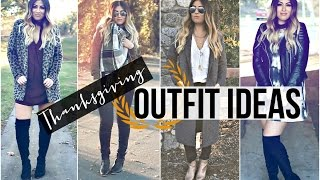 Thanksgiving Outfit Ideas! OOTW Fall Fashion Lookbook