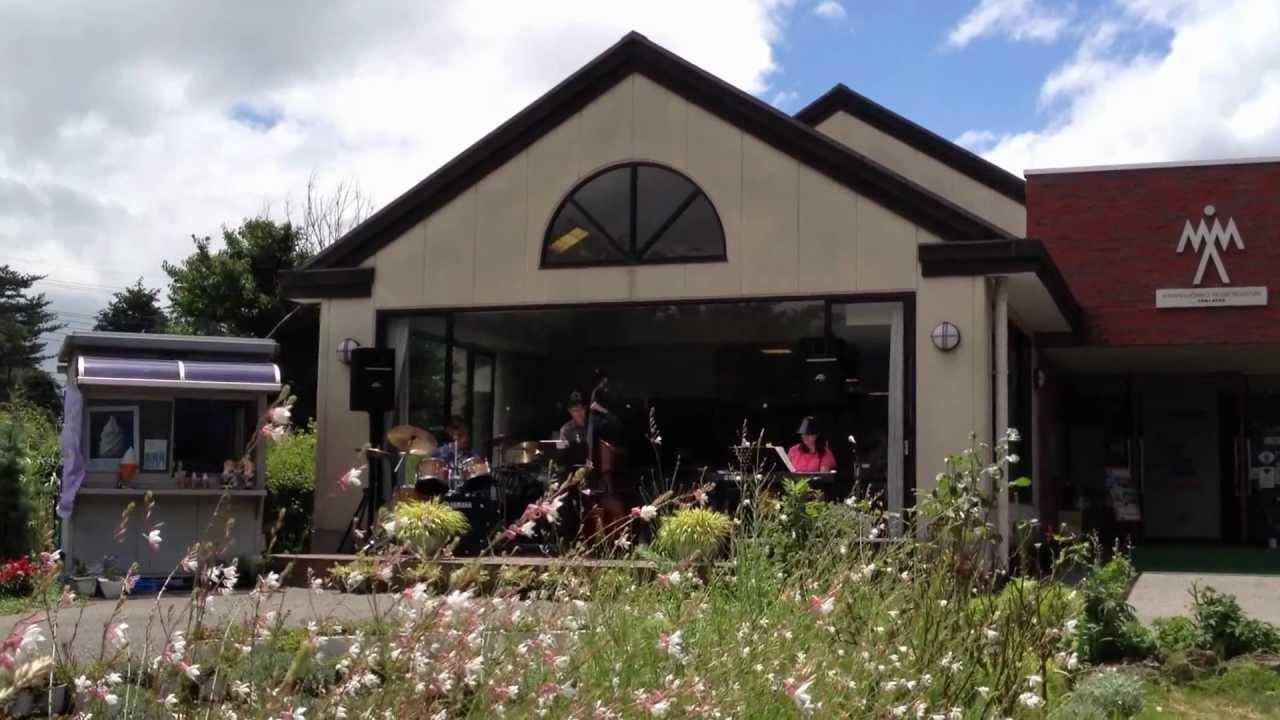 河口湖ミューズ館 de Jazz - YouTube