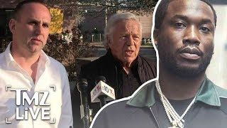 Meek Mill Gets A Couple Of Billionaire Visitors In Prison | TMZ Live