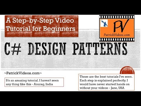 C# Design Patterns - step by step - made easy for Beginners.
