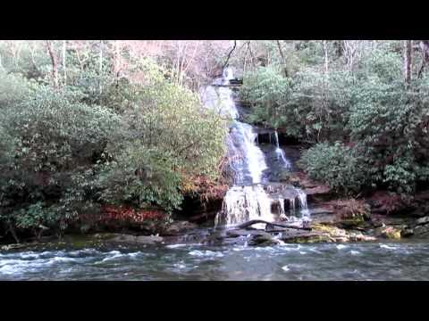 Slow TV Mountain Waterfall
