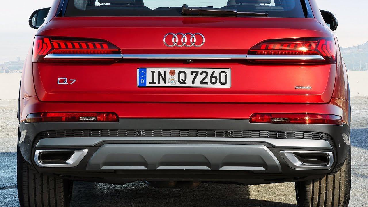 2020 Audi Q7 Features Design Driving