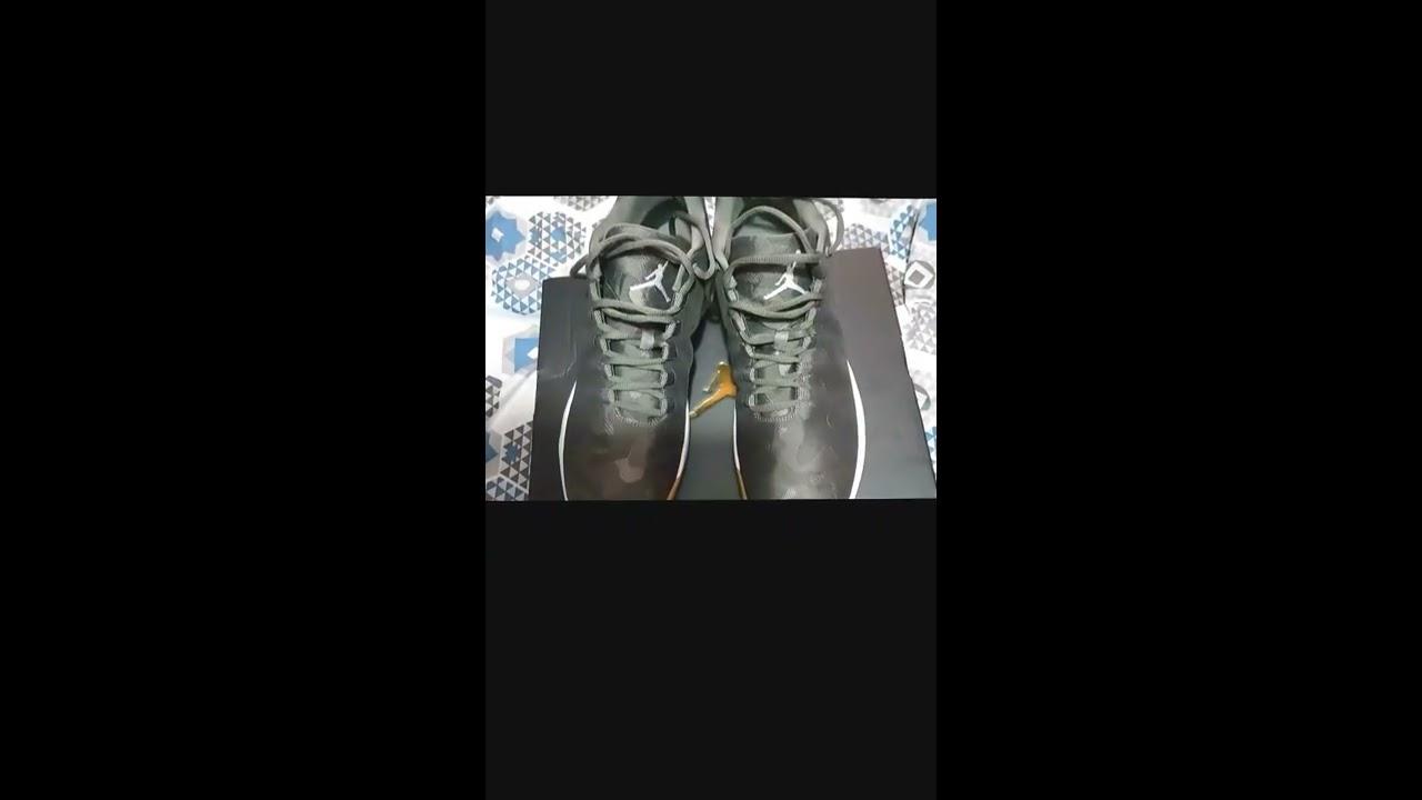 0d2c0daf3823 Unboxing Jordan B Fly River Rock White Dark Stucco - YouTube
