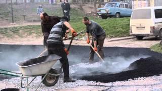 Ремонт вулиці Б. Хмельницького