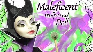 How to: Maleficent inspired doll - Repaint Tutorial