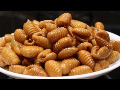 Wheat Flour Gavvalu Recipe | Home Made Sweet Shells Making
