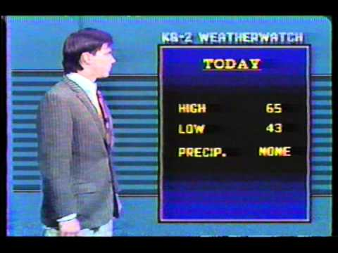 Bad Weather Broadcast 1987 - First One