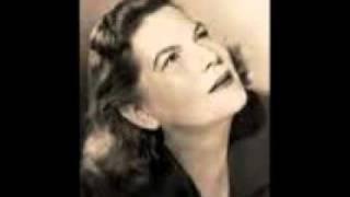 Margaret Harshaw as Brünnhilde in  Die Walküre 1954,