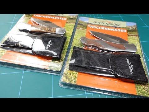 EDC Taschenmesser für 3,99 Euro - Aldi Süd - §42a Backlock Folder (deutsch)