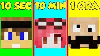 QUANTO CI METTI AD INDOVINARE LO YOUTUBER FAMOSO? - Minecraft ITA
