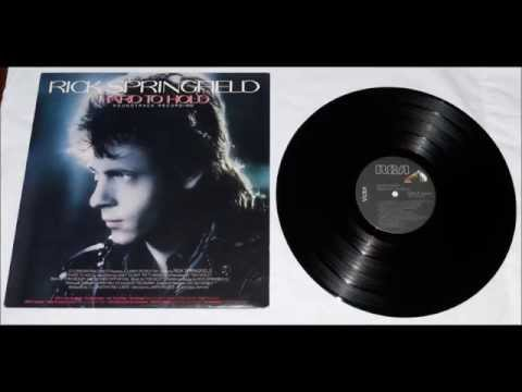 "RICK SPRINGFIELD ""HARD TO HOLD"" Soundtrack Recording"