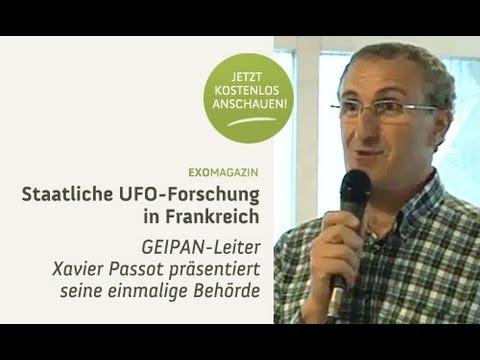 Staatliche UFO-Forschung in Frankreich - Xavier Passot | ExoMagazin