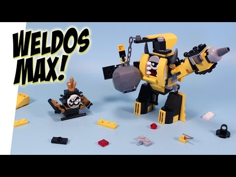 lego mixels series 8 mega max instructions