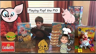 Pop The Pig Family Fun Game for kids with GabrielToysReview