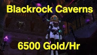 How to Make Gold in WoW [6500 g/hour] Blackrock Caverns Guide