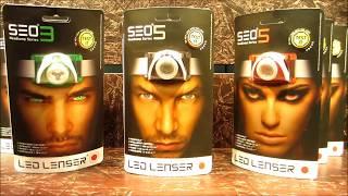 LED LENSER. Яркие и лёгкие Фонари нового поколения SEO3, SEO5, SEO7R. FHD.