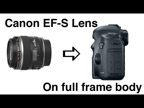 Canon EF-S lens on Full Frame Body using extension tubes - 60mm macro 18-135mm