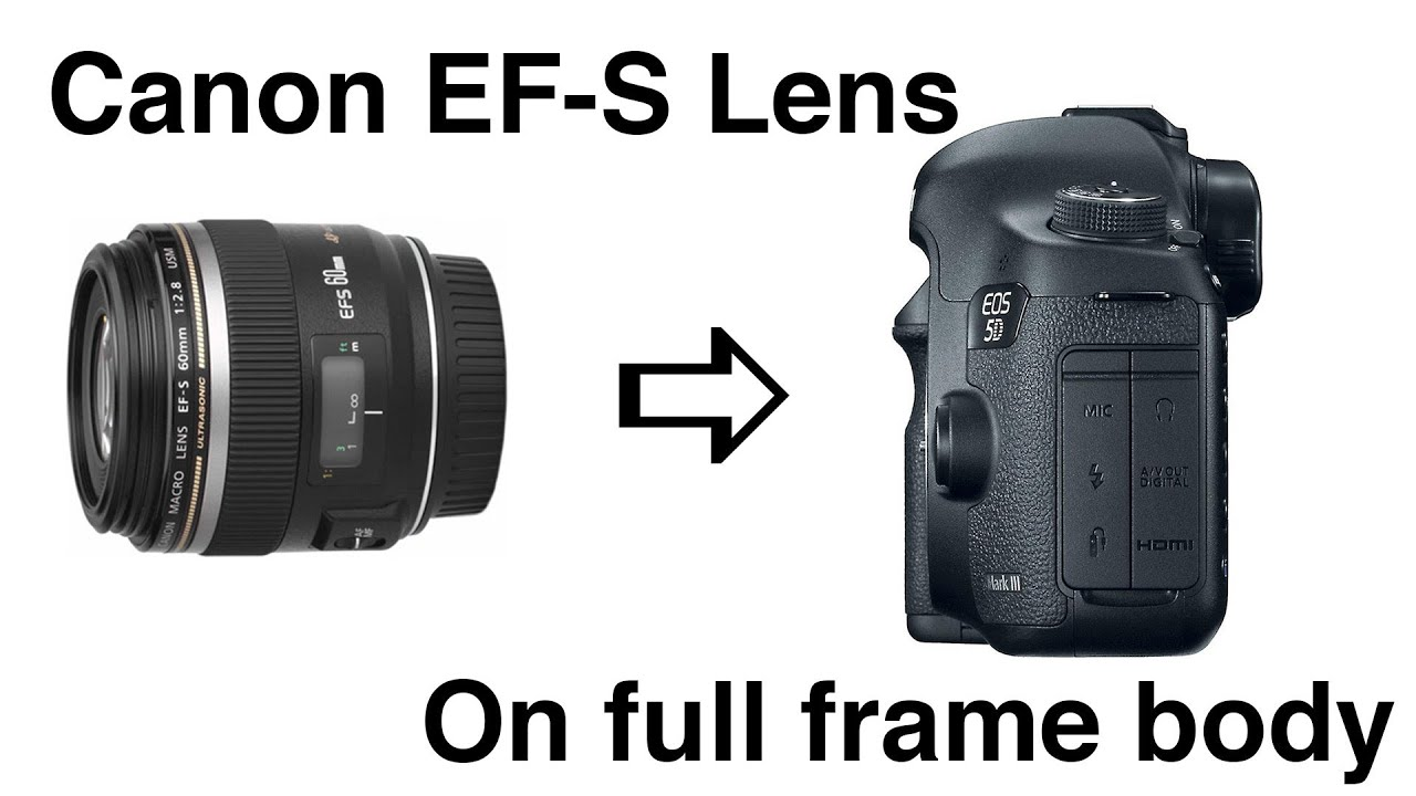 canon ef s lens on full frame body using extension tubes 60mm macro 18 135mm