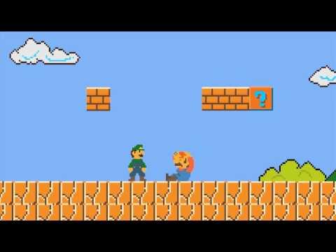 Марио как на Денди - онлайн флеш игра