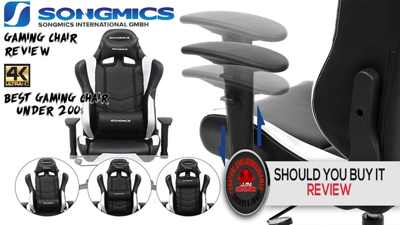 SONGMICS Gaming Racing Sport Chair Unboxing U0026 In Depth Review 🗣🎮