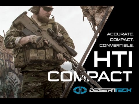 "HTI Sniper Rifle Compact , Portable and Accurate 45"" inches"