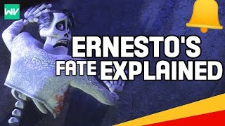 Ernesto De La Cruz's Fate Explained! | What Happened After The Bell?: Discovering Coco Theory