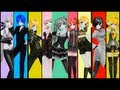 Unhappy Refrain ~ All Stars Mix~[ Project Diva - Edit Pv ] video