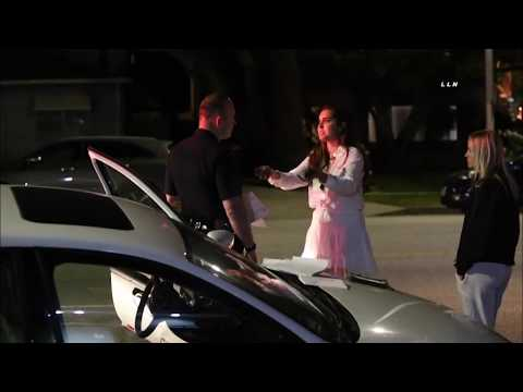 Female Drunk Driver Explains to Police Why She Crashed  / Santa Monica 2.26.20