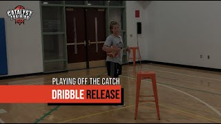 Dribble Release Action - Playing Off The Catch with Courtney Douglass (Pro Player)