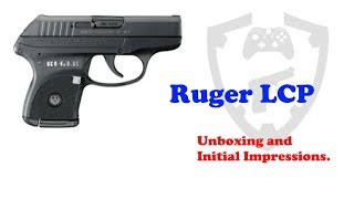 Ruger LCP Unboxing and Initial Impressions