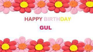 Gul   Birthday Postcards & Postales - Happy Birthday