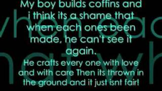 Florence + The  Machine - My boy Builds coffins With Lyrics