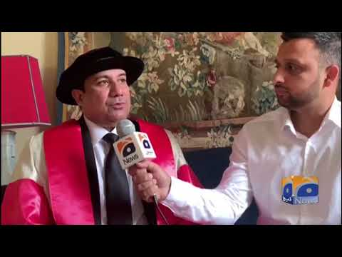 Geo News Special – Famed Qawwal Rahat Fateh Ali Khan Honored With Honorary Doctorate Degree Mp3