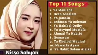 NISSA SABYAN Full album LAGU RELIGI TERBAIK 2018 || SHOLAWAT POPULER
