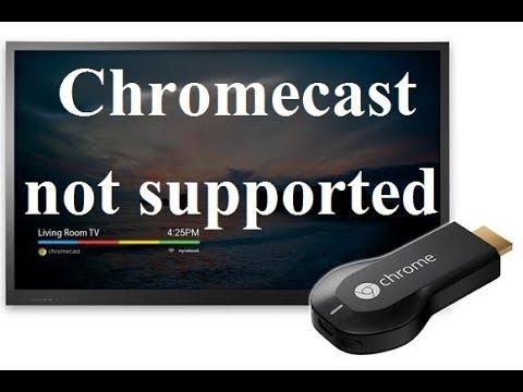Chromecast error blank tv screen after boot logo