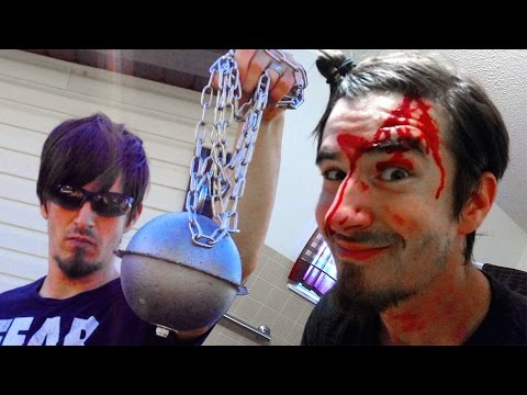 Charles Injured Again with Circular Saw Meteor Hammer from Kill Bill! Zombie Go Boom! from YouTube · High Definition · Duration:  17 minutes 58 seconds  · 839.000+ views · uploaded on 17-8-2016 · uploaded by ZombieGoBoom