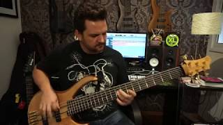 Felipe Andreoli - Learning To Live - Dream Theater [Bass Cover]