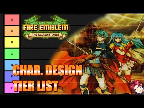 Mi Fire Emblem: The Sacred Stones Character Design Tierlist!