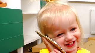 Miss Polly had a Dolly - Детская песня | Песни для детей от Кати и Димы
