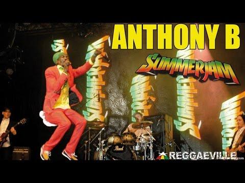 Anthony B & House Of Riddim - Born To Be Free @ SummerJam 2014