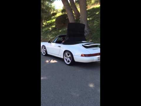 Porsche 1990 964 c2 convertible top