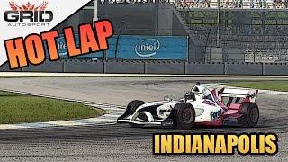 Grid Autosport Gameplay - Hot Lap (World Record) - Formula B - Indianapolis GP Circuit
