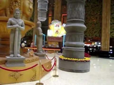 Quang cảnh sòng bài Nagaworld, Phnompenh, Campuchia
