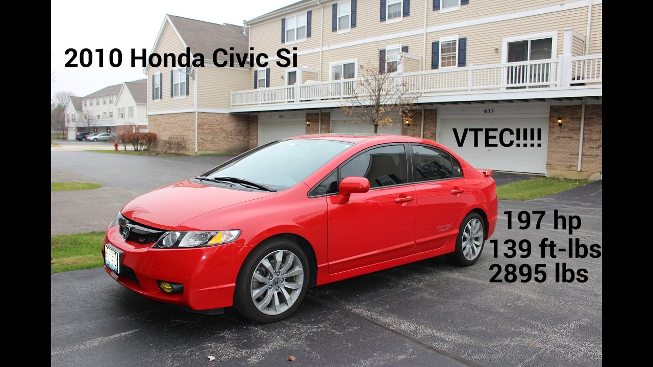 2010 Honda Civic Si Review