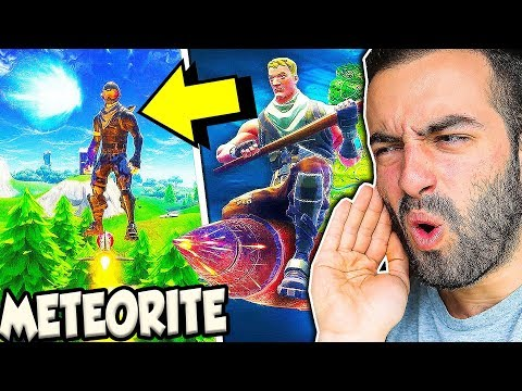 MISSILE RIDE to the Meteor in Fortnite