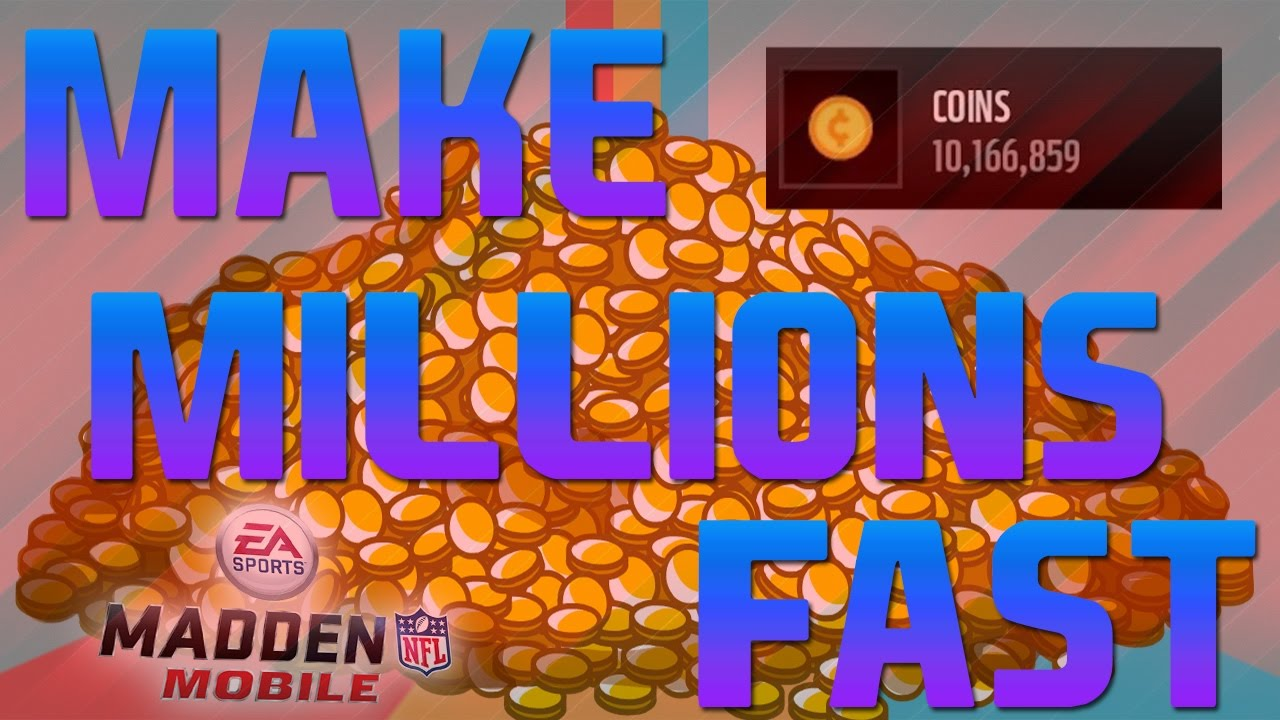 make madden mobile coins