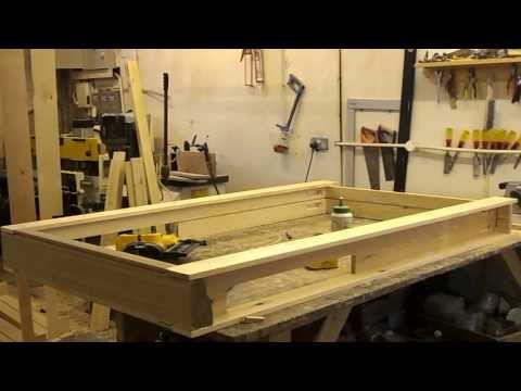 Sash Windows - How to put a sash box frame together & how to square it?