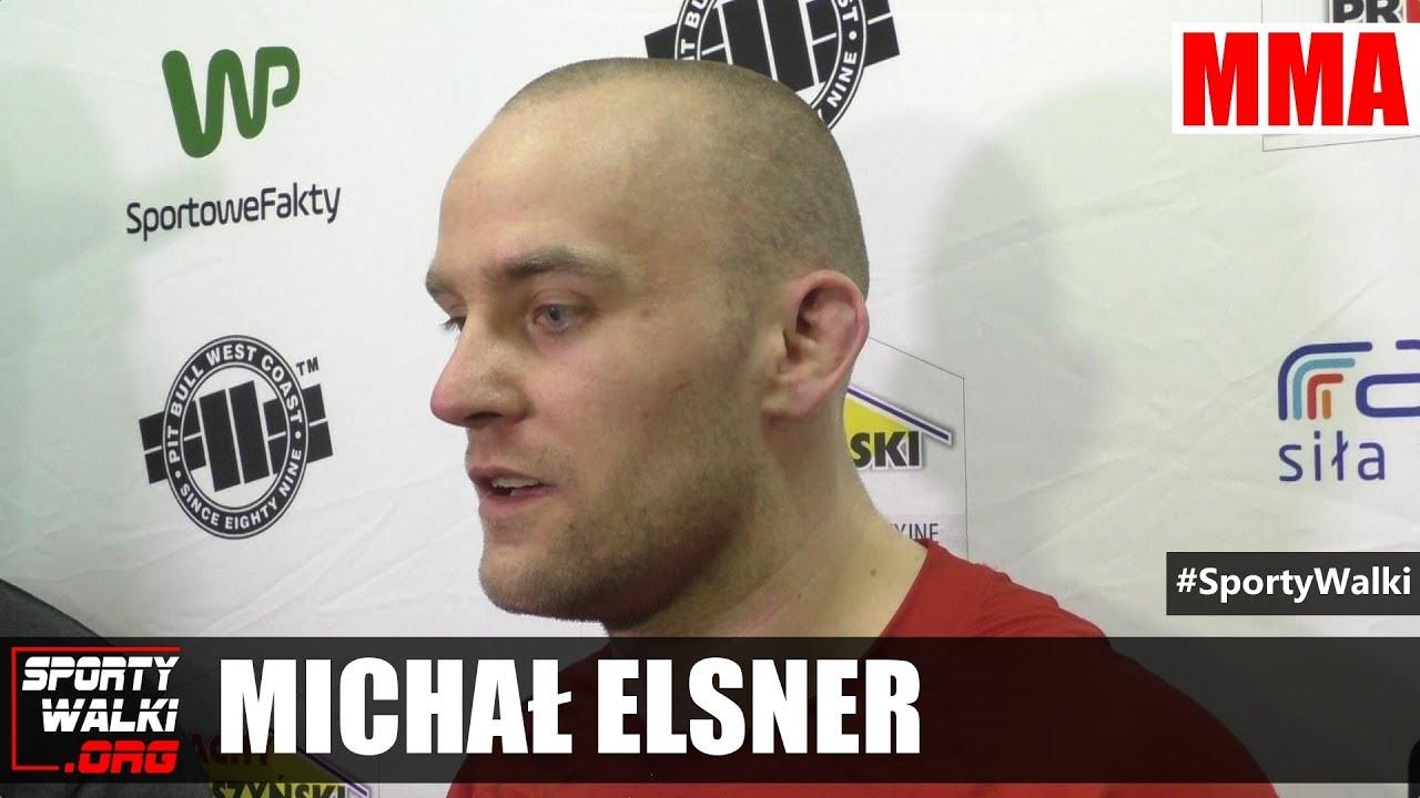 Michał Elsner po Babilon MMA 3